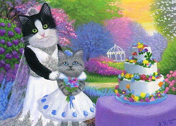 bruid en bruidsmeis…